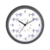Complex number Wall Clocks