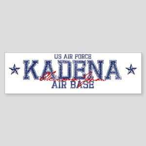 Kadena Air Base Japan Sticker (Bumper)