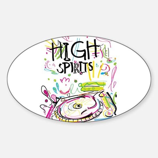 High Spirits Decal