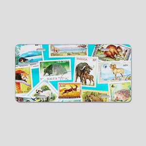 ANIMALS of the WORLD Aluminum License Plate