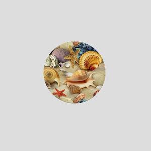 Sea Shells Mini Button