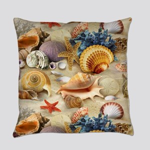Sea Shells Everyday Pillow