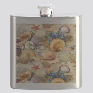 Sea Shells Flask