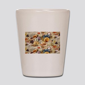 Sea Shells Shot Glass