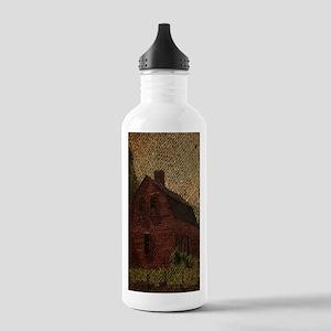 rustic burlap farm bar Stainless Water Bottle 1.0L