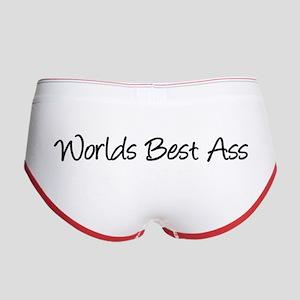Worlds Best Ass Women's Boy Brief