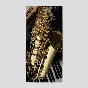 Saxophone And Piano Beach Towel