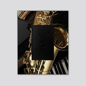 Saxophone And Piano Picture Frame