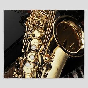 Saxophone And Piano King Duvet