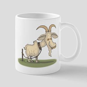 Cartoon Funny Old Goat Mug