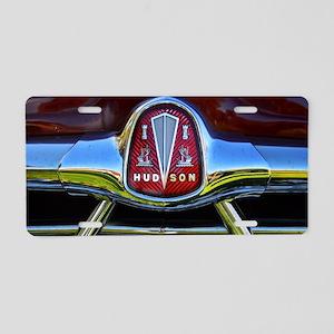 Vintage Hudson Aluminum License Plate
