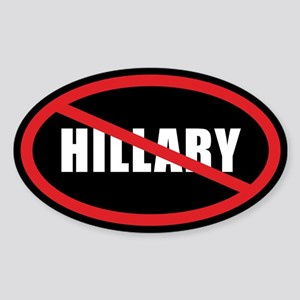 No Hillary Sticker