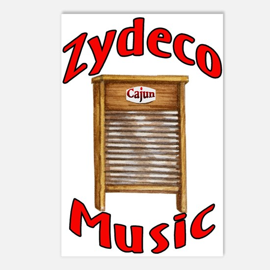 Zydeco Washboard Postcards (Package of 8)