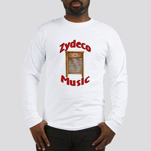 Zydeco Washboard Long Sleeve T-Shirt