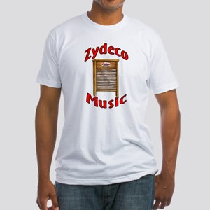 Zydeco Washboard Fitted T-Shirt