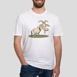 Cartoon Funny Old Goat T-Shirt