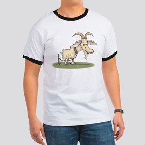 Cartoon Funny Old Goat T-Shirt