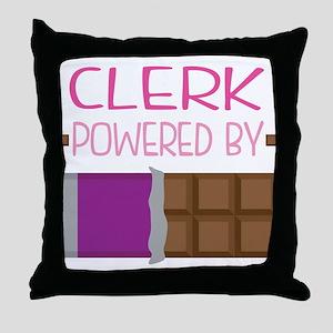 Clerk Throw Pillow