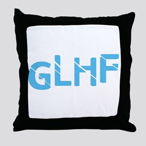 Good Luck Have Fun Throw Pillow