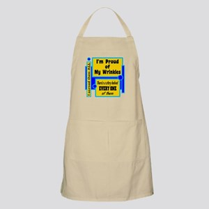 Proud Of My Wrinkles Apron