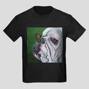English Bulldog and Butterfly T-Shirt
