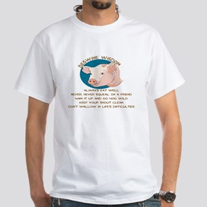 DESWINE WISDOM - ADVICE FROM THE PIG T-Shirt