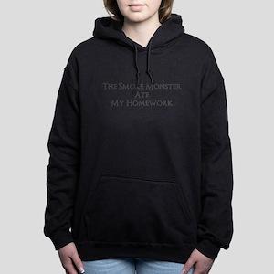 Bad Smoke Monster! Women's Hooded Sweatshirt