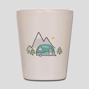 Happy Camper Shot Glass