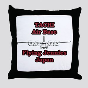 Tachi AB C-130 Japan Throw Pillow