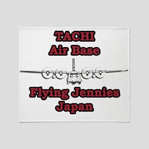 Tachi AB C-130 Japan Throw Blanket