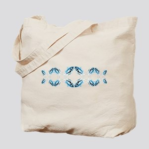 Retro Toothy Fish Stretched Design. Fish Tote Bag