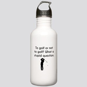 To Golf Or Not To Golf Water Bottle