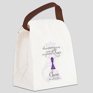 Ba Canvas Lunch Bag