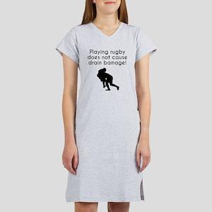 Drain Bamage Rugby Women's Nightshirt