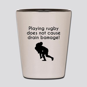 Drain Bamage Rugby Shot Glass