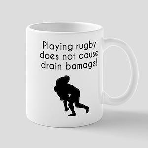 Drain Bamage Rugby Mugs