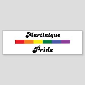Martinique pride Bumper Sticker