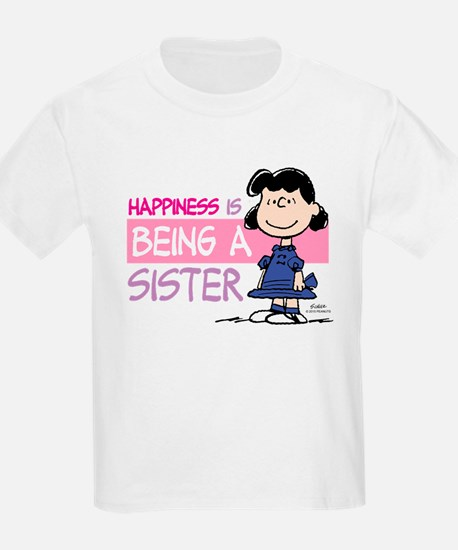 Happiness is being a Sister T-Shirt