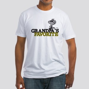 Grandpa's Favorite Fitted T-Shirt
