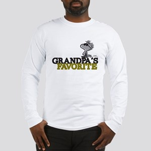 Grandpa's Favorite Long Sleeve T-Shirt