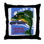 USS JALLAO Throw Pillow
