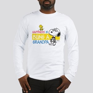 Happiness is being a Grandpa Long Sleeve T-Shirt