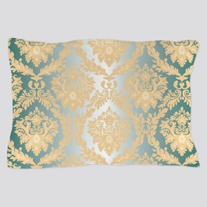 Elegant Damask Design Pillow Case