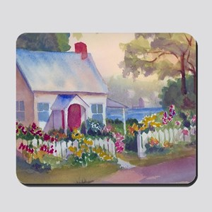 Boothbay Area Cottage Mousepad