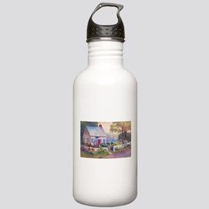 Boothbay Area Cottage Stainless Water Bottle 1.0L