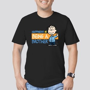 Happiness is being a B Men's Fitted T-Shirt (dark)
