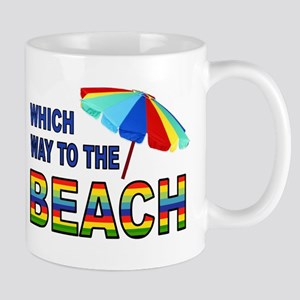BEACH SEARCH Mugs