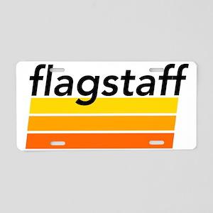 Vintage Flagstaff Aluminum License Plate