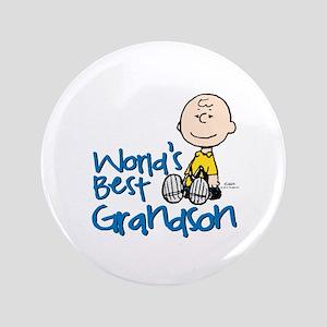World's Best Grandson Button