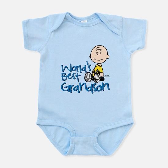 World's Best Grandson Infant Bodysuit
